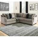 Signature Design by Ashley Bovarian 2-Piece Sectional - Item Number: 5610348+56