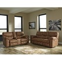 Signature Design by Ashley Boxberg Reclining Living Room Group - Item Number: 33802 Living Room Group 1