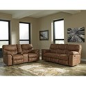 Signature Design by Ashley Boxberg Reclining Living Room Group - Item Number: 33802 Living Room Group 2