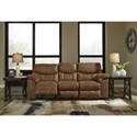 Signature Design by Ashley Boxberg Casual Reclining Power Sofa