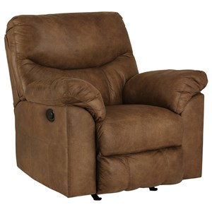 Signature Design by Ashley Boxberg Power Rocker Recliner