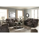 Signature Design by Ashley Boxberg Reclining Living Room Group - Item Number: 33803 Living Room Group 3