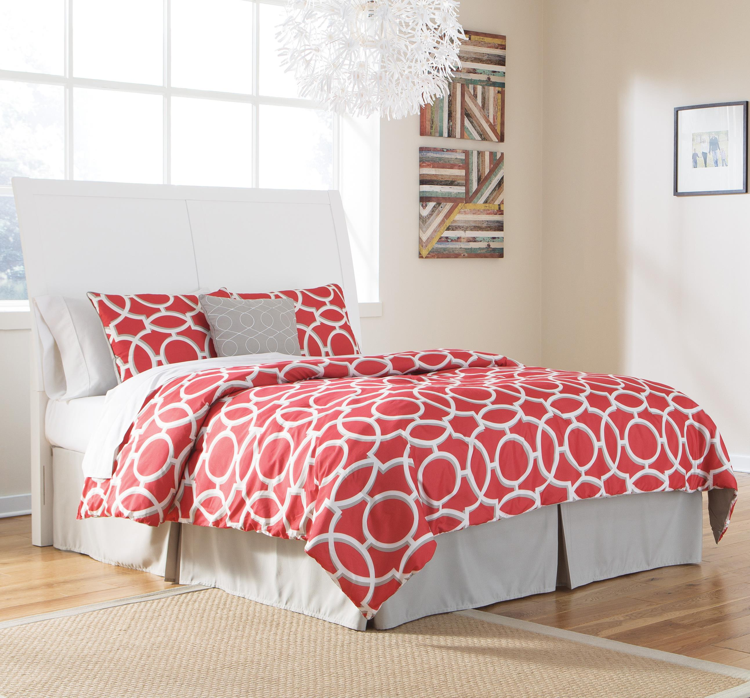 Signature Design by Ashley Langlor King/Cal King Sleigh Headboard - Item Number: B592-58