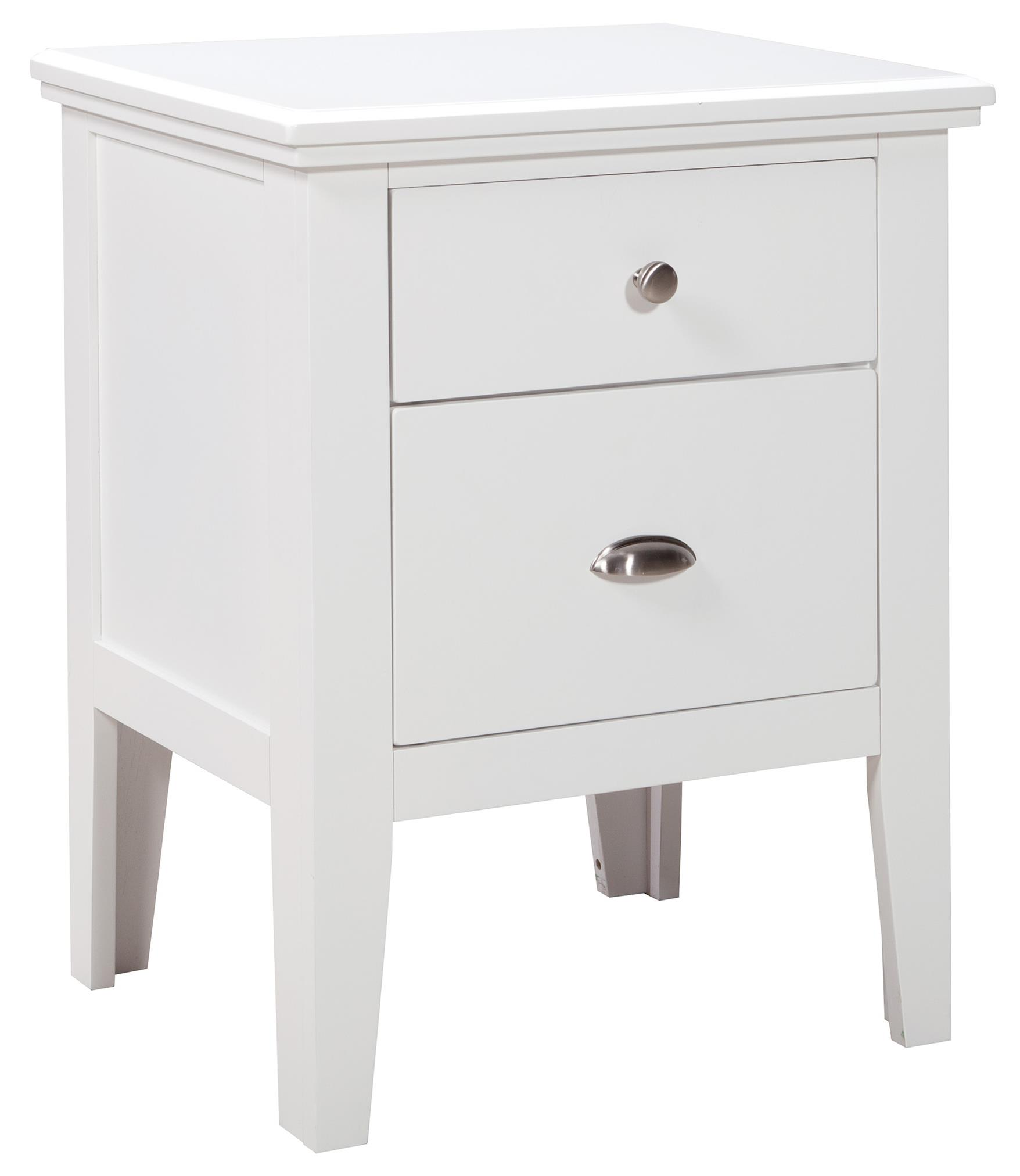 Signature Design by Ashley Langlor Two Drawer Night Stand - Item Number: B592-92