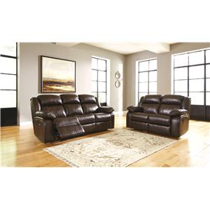 Signature Design by Ashley Branton Reclining Living Room Group