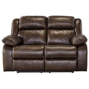 Signature Design by Ashley Branton Reclining Power Loveseat