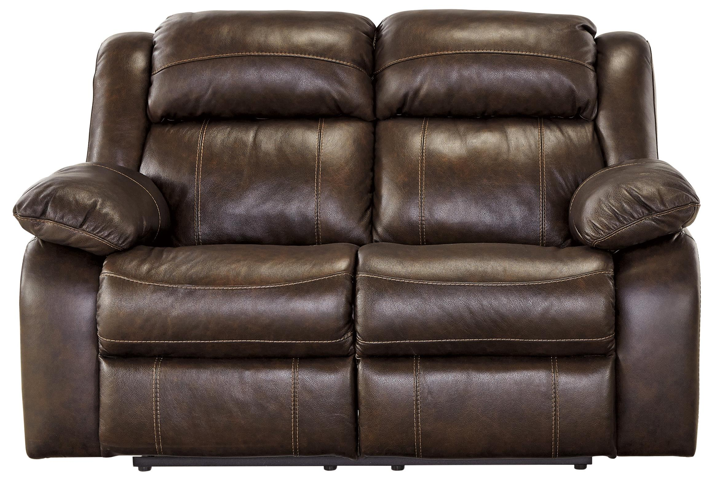 Signature Design by Ashley Branton Reclining Loveseat - Item Number: U7190186