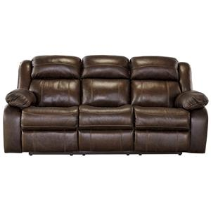 Signature Design by Ashley Branton Reclining Power Sofa