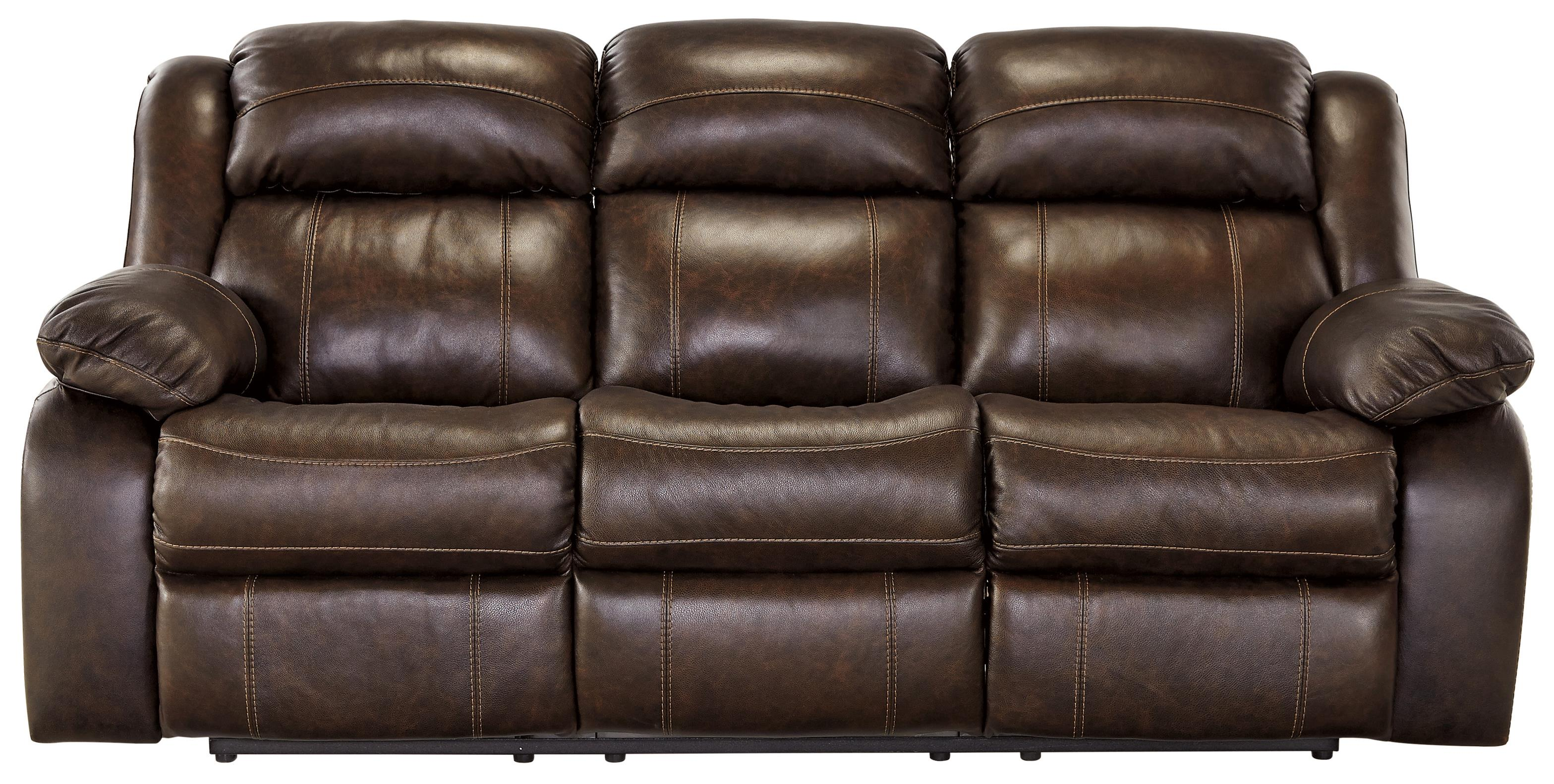 Signature Design by Ashley Branton Reclining Sofa - Item Number: U7190188