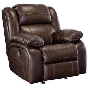 Signature Design by Ashley Branton Power Rocker Recliner