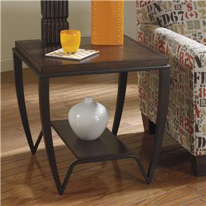 Signature Design by Ashley Brashawn Square End Table