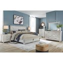 Signature Design by Ashley Brashland Queen Bedroom Group - Item Number: B740 Q Bedroom Group 1