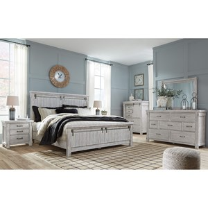 Signature Design by Ashley Brashland Queen Bedroom Group