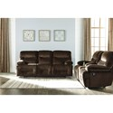 Ashley (Signature Design) Brayburn Reclining Living Room Group - Item Number: 77701 Living Room Group 1
