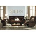 Ashley (Signature Design) Brayburn Reclining Living Room Group - Item Number: 77701 Living Room Group 2