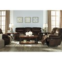 Ashley (Signature Design) Brayburn Power Reclining Living Room Group - Item Number: 77701 Living Room Group 4