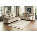 Ashley (Signature Design) Brayburn Power Reclining Living Room Group - Item Number: 77702 Living Room Group 3