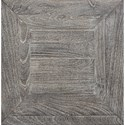 Signature Design by Ashley Brazin Square End Table with White Waxed Gray Finish