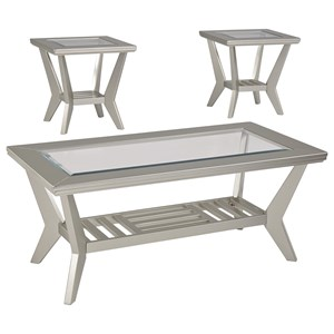 Signature Design by Ashley Brenweer 3 Piece Occasional Table Set