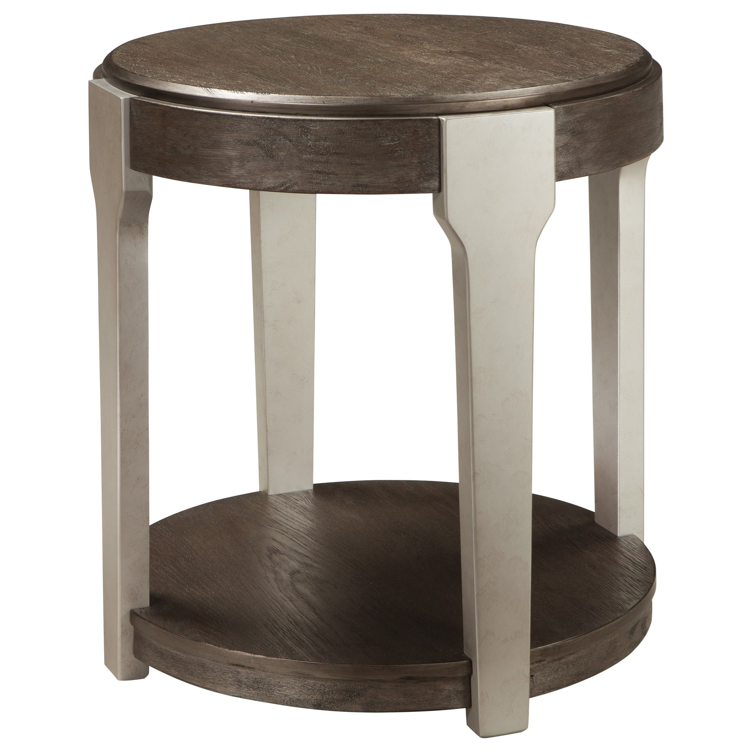 Signature Design by Ashley Brenzington Round End Table - Item Number: T453-6