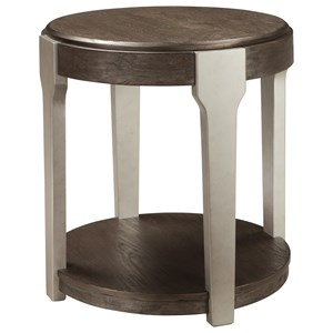 Signature Design by Ashley Brenzington Round End Table