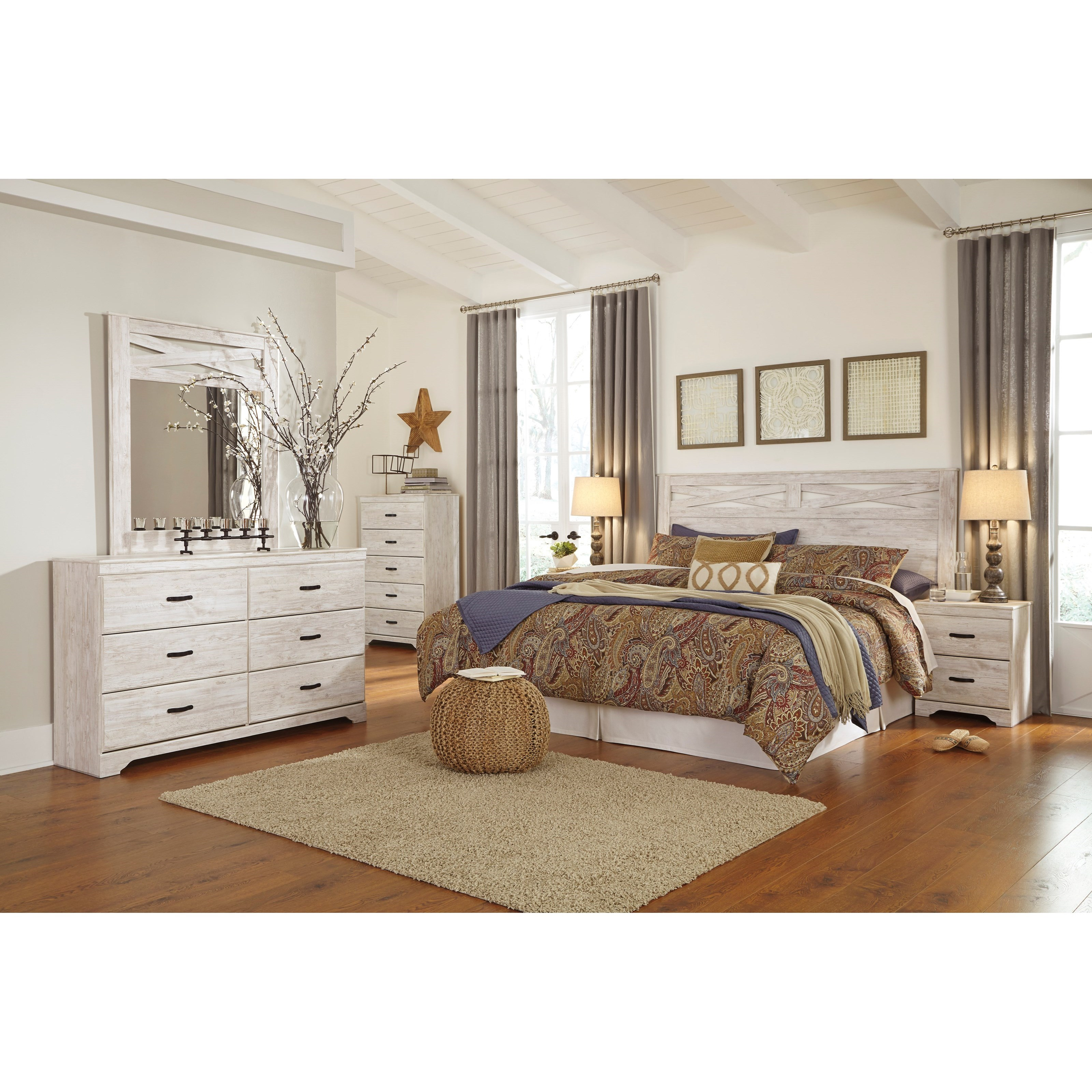 Signature Design By Ashley Briartown King Bedroom Group Value City Furniture Bedroom Groups