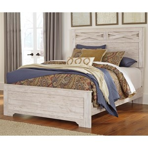 Signature Design by Ashley Briartown Queen Panel Bed