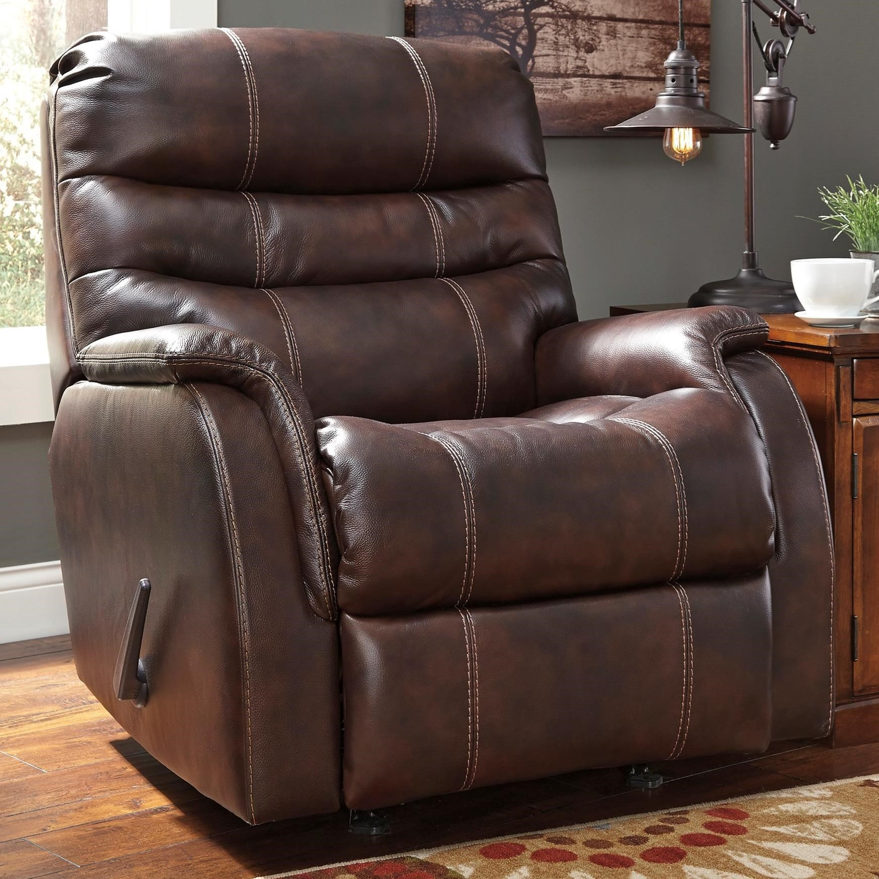 Signature Design by Ashley Bridger Rocker Recliner - Item Number: 3930025