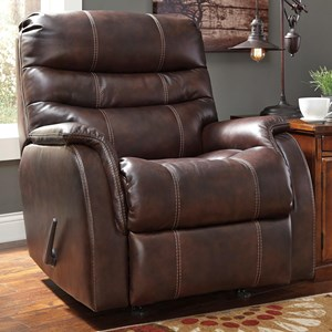 Signature Design by Ashley Bridger Rocker Recliner