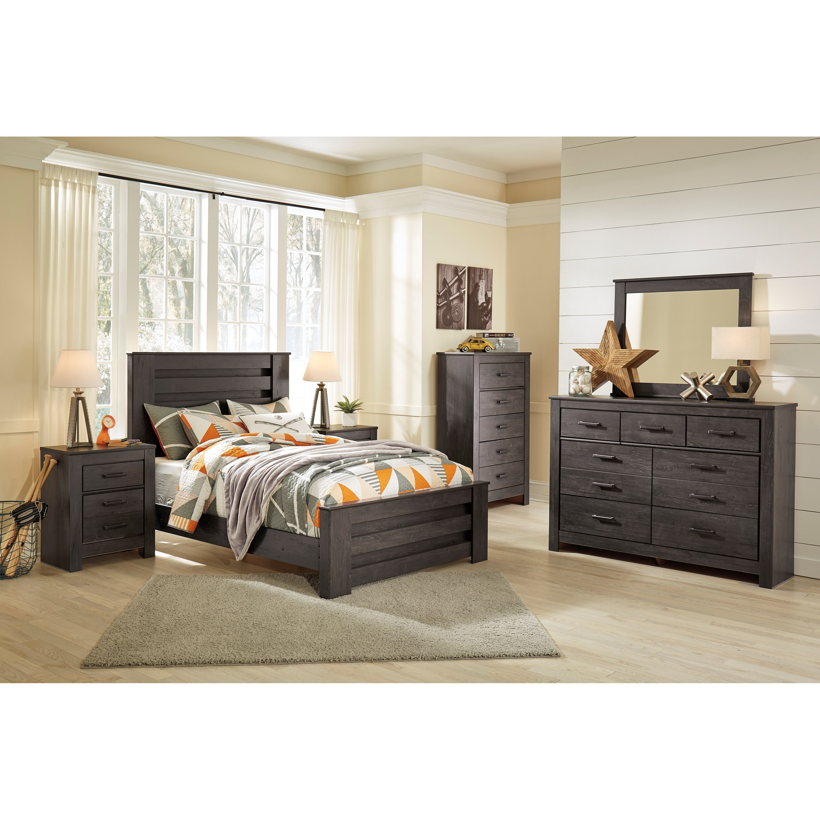 Brinxton Full Bedroom Group by Signature Design by Ashley at Value City Furniture