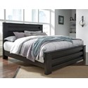 Signature Design by Ashley Brinxton King Panel Bed - Item Number: B249-68+66+99