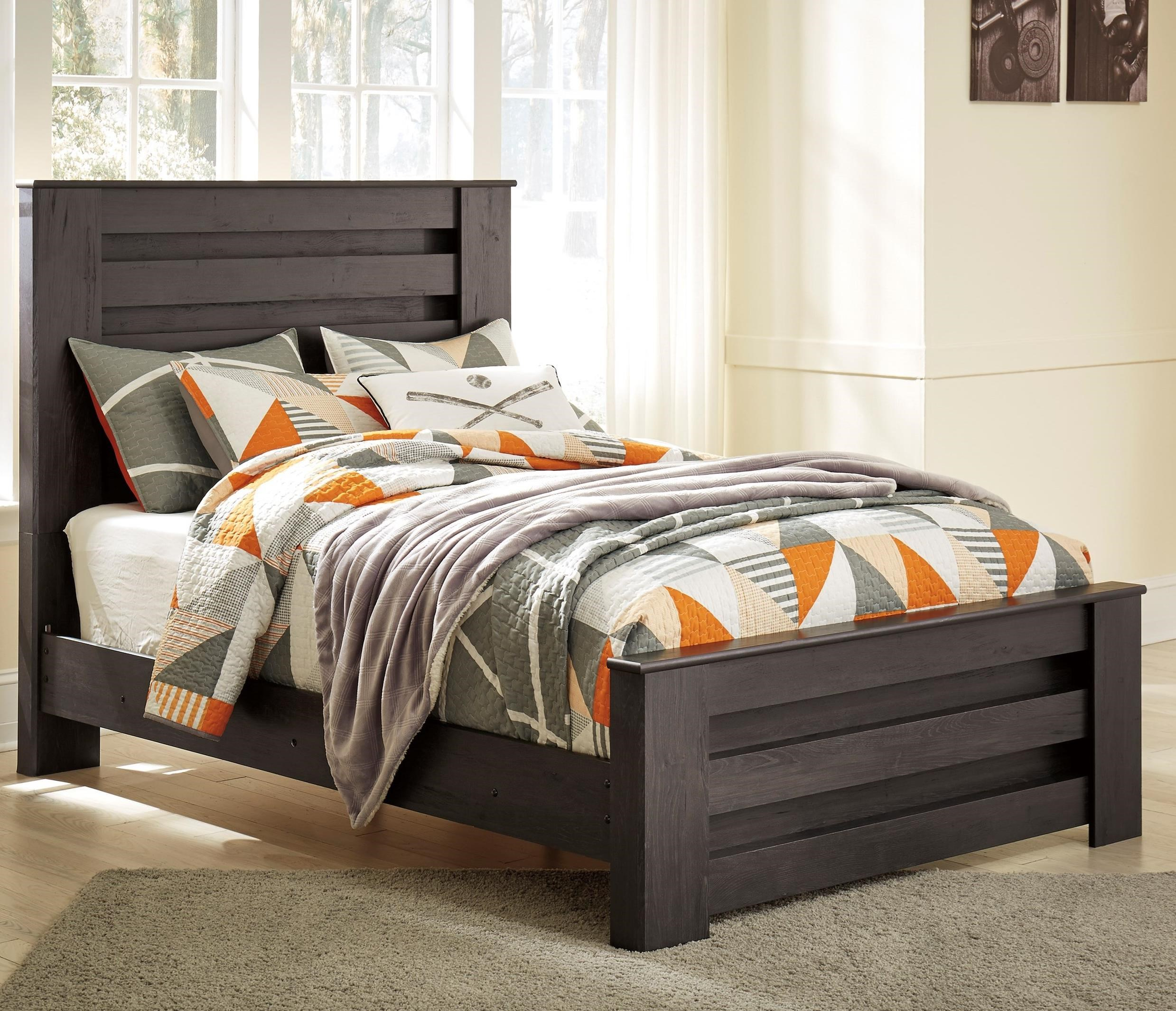 Brinxton Full Panel Bed by Ashley (Signature Design) at Johnny Janosik