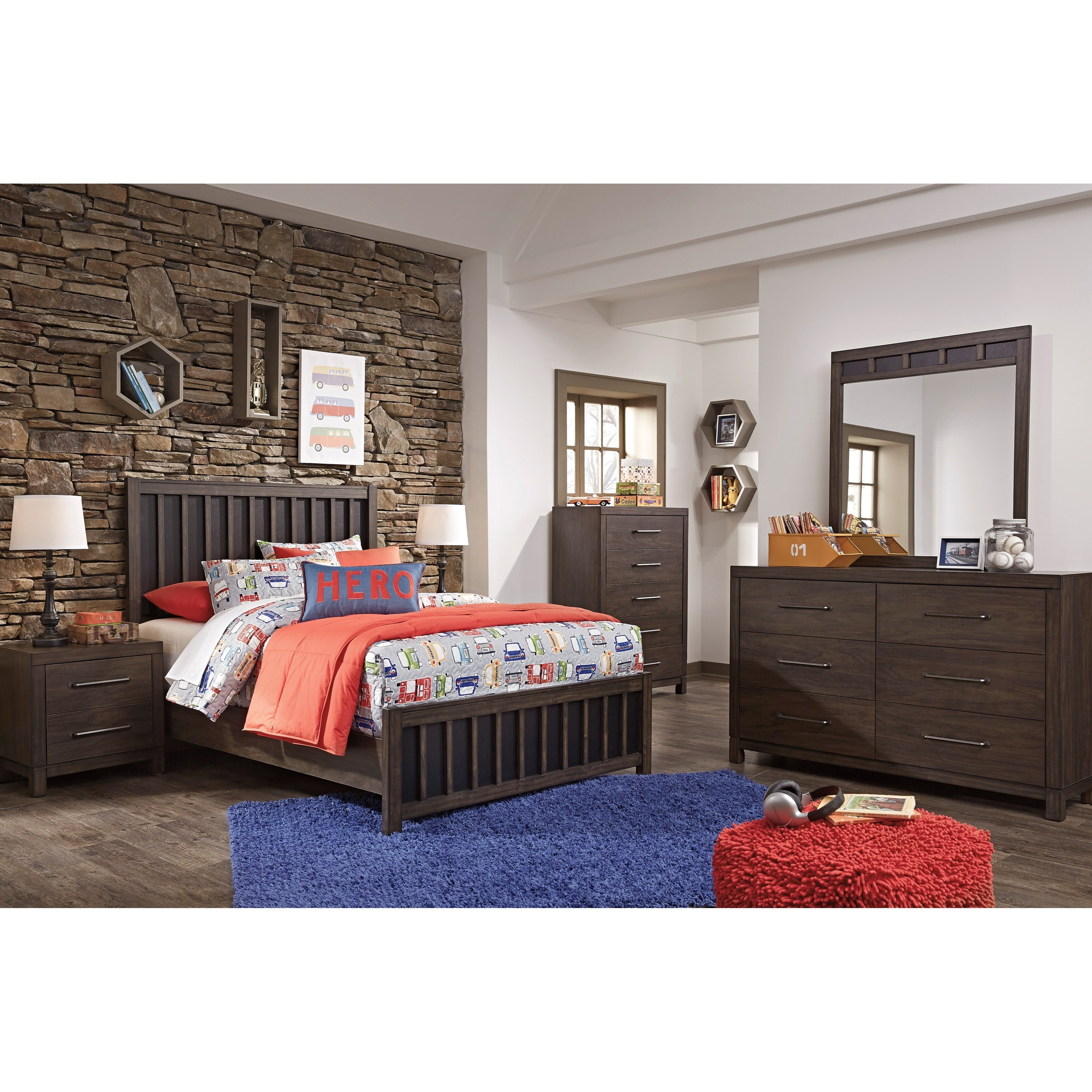 Signature Design by Ashley Brissley Full Bedroom Group Royal