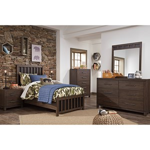 Signature Design by Ashley Brissley Twin Bedroom Group