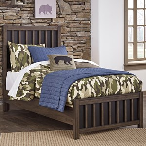 Signature Design by Ashley Brissley Twin Panel Bed