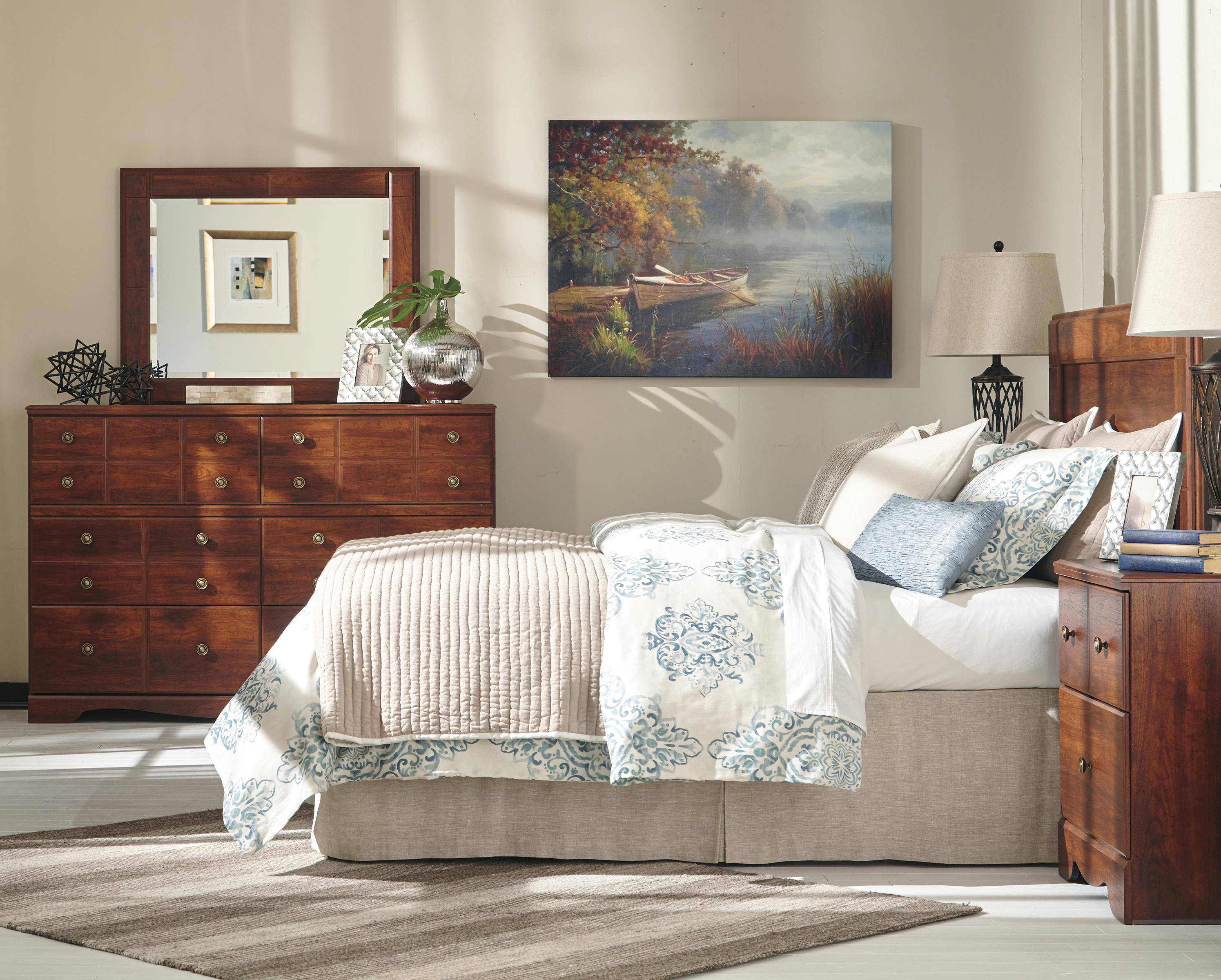 Signature Design by Ashley Brittberg Queen/Full Bedroom Group - Item Number: B265 QF Bedroom Group 1