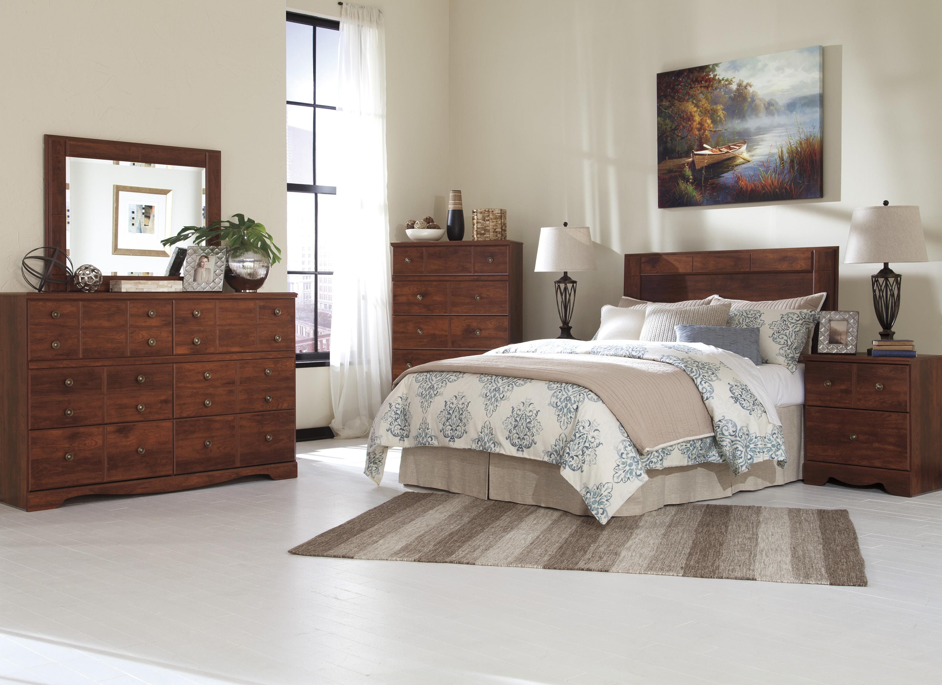 Signature Design by Ashley Brittberg Queen/Full Bedroom Group - Item Number: B265 QF Bedroom Group 2