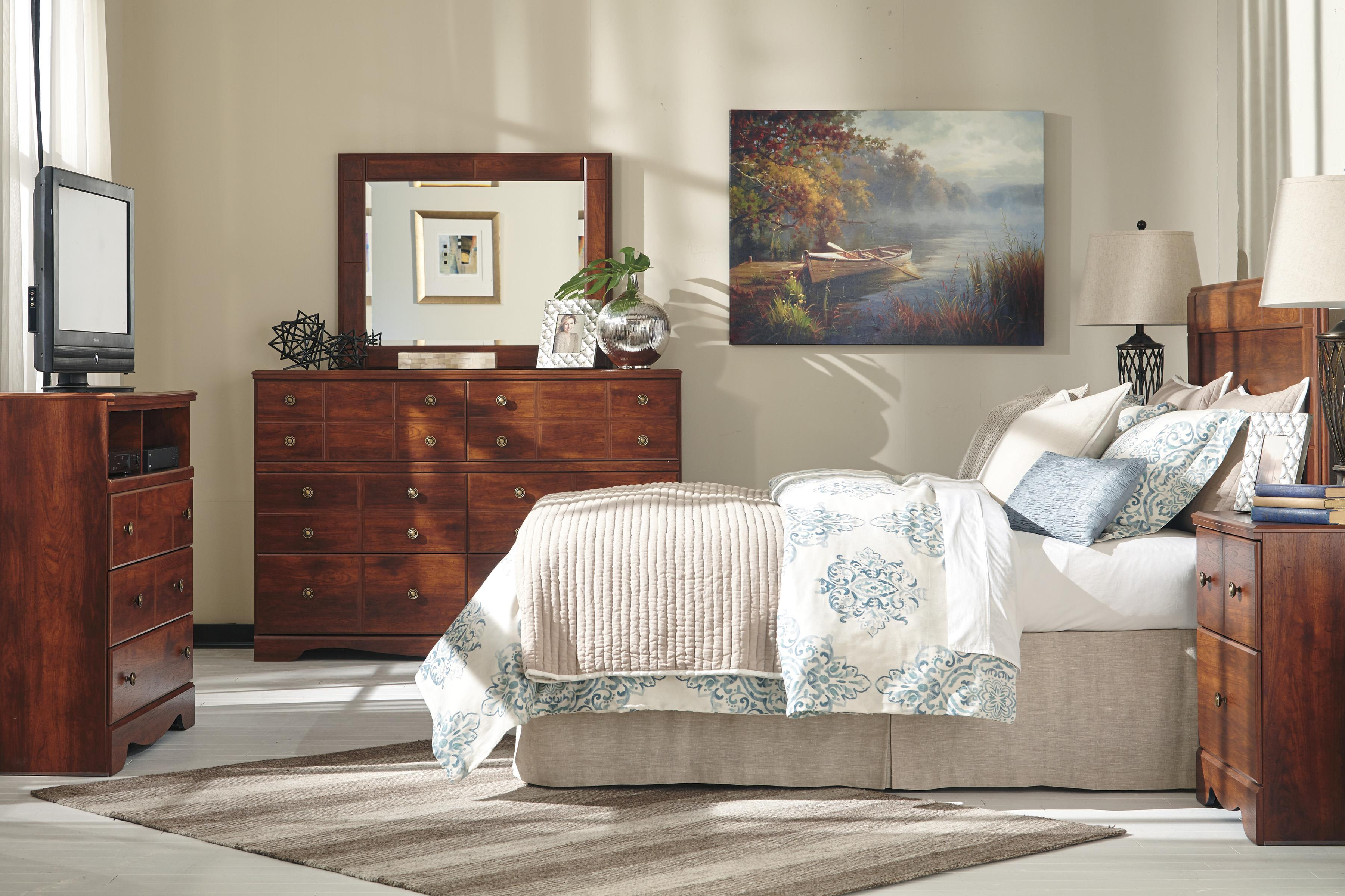 Signature Design by Ashley Brittberg Queen/Full Bedroom Group - Item Number: B265 QF Bedroom Group 3