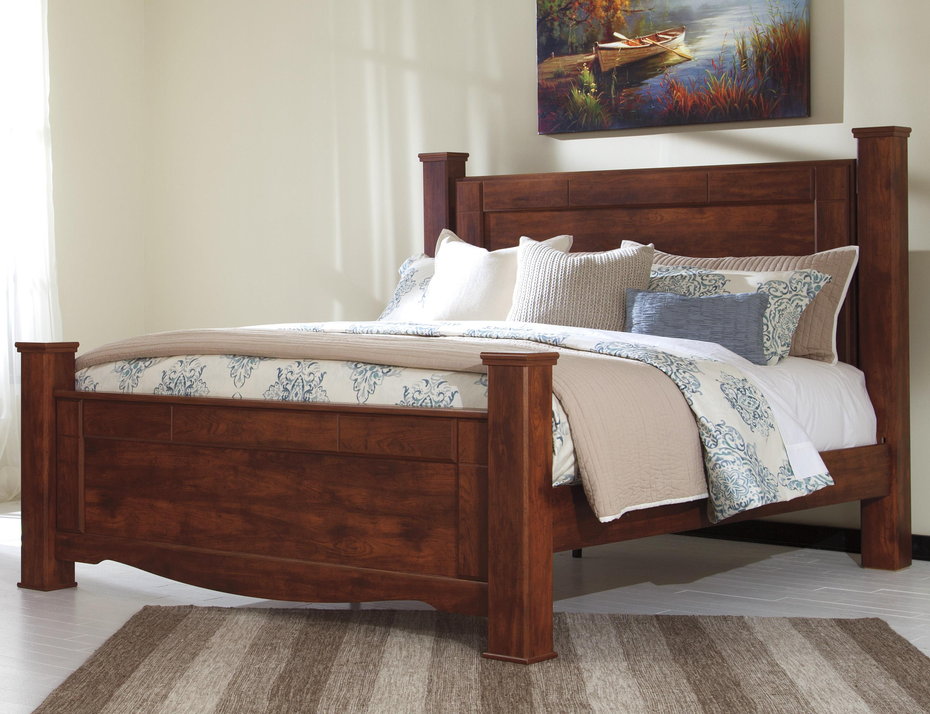 Signature Design by Ashley Brittberg King Poster Bed - Item Number: B265-68+66+61+99