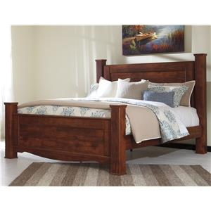 Signature Design by Ashley Brittberg King Poster Bed