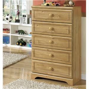 Signature Design by Ashley Furniture Broffin Five Drawer Chest