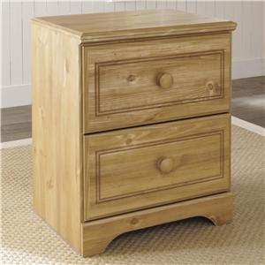 Signature Design by Ashley Furniture Broffin Two Drawer Night Stand