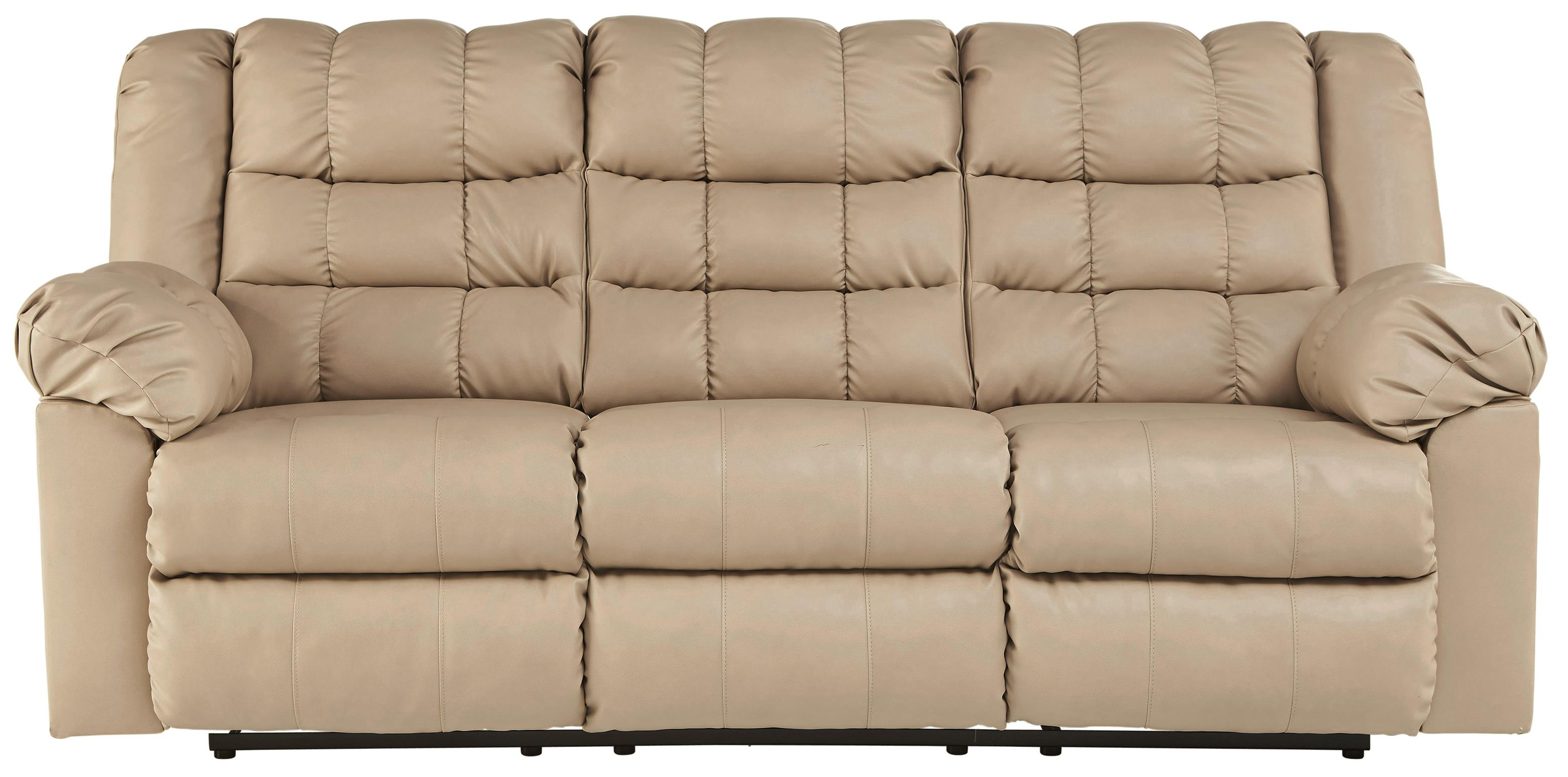 Signature Design by Ashley Brolayne DuraBlend® Reclining Sofa - Item Number: 8320188
