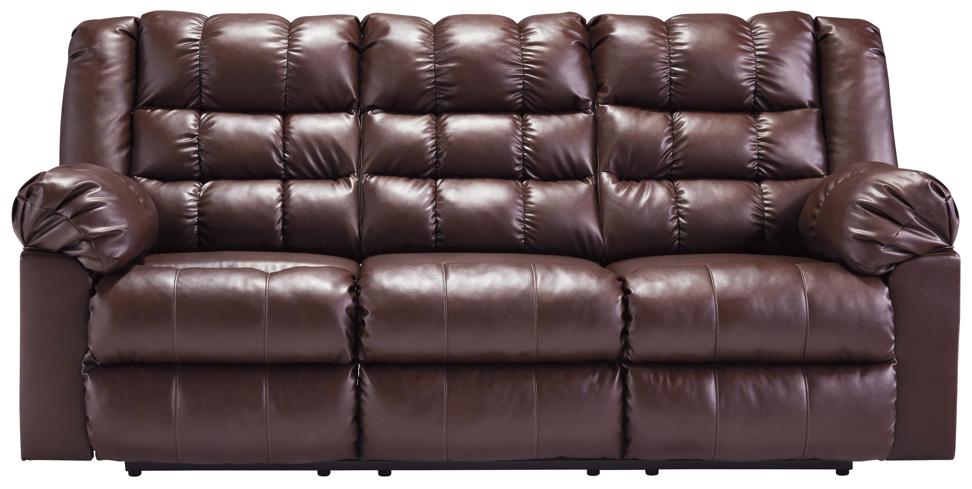 Signature Design by Ashley Brolayne DuraBlend® Reclining Sofa - Item Number: 8320288