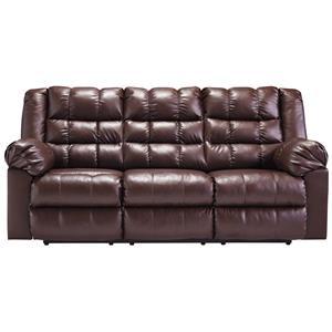 Ashley Signature Design Brolayne DuraBlend® Reclining Sofa