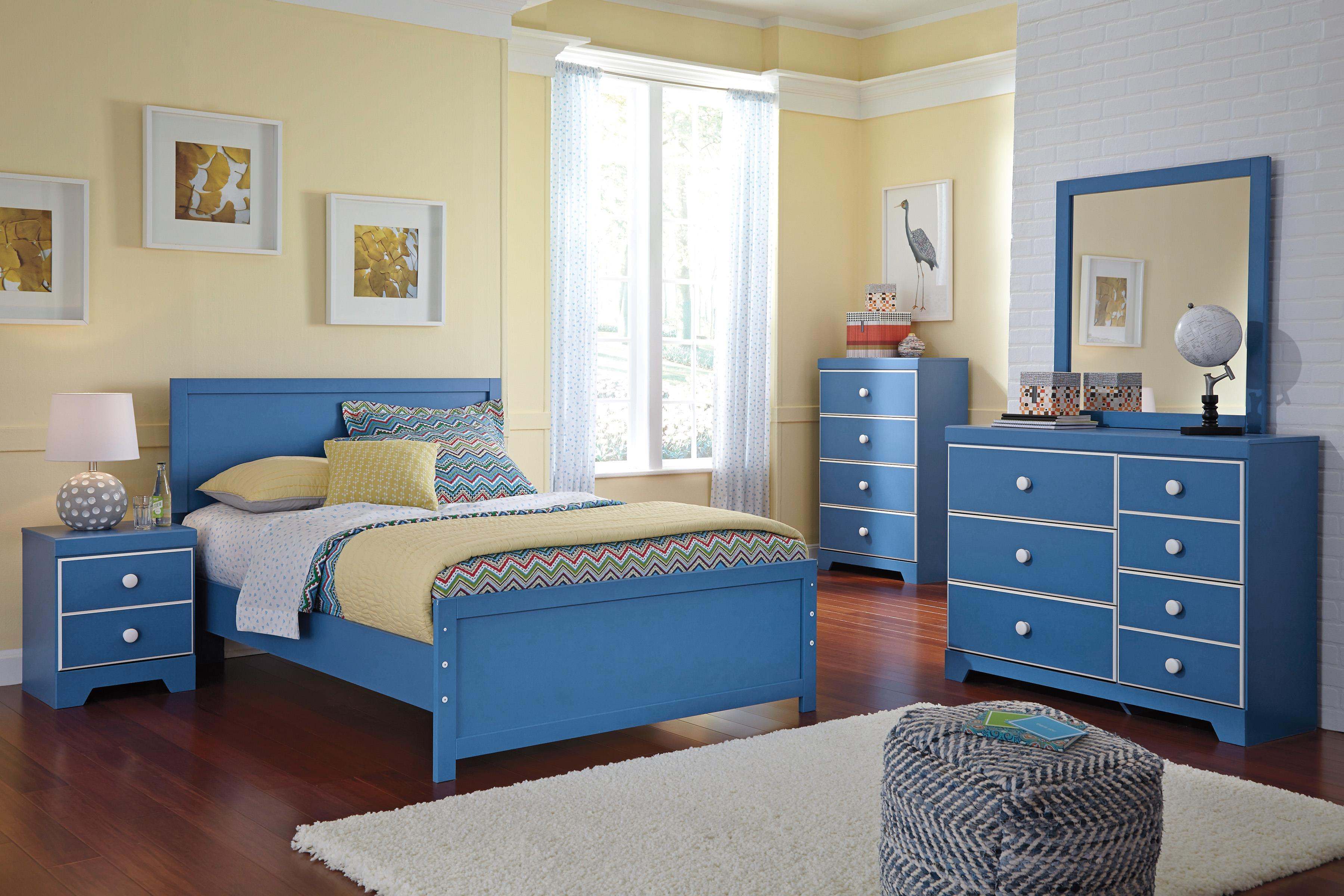 Signature Design by Ashley Bronilly Full Bedroom Group - Item Number: B045 F Bedroom Group 1