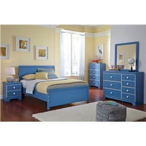 Ashley Signature Design Bronilly Full Bedroom Group