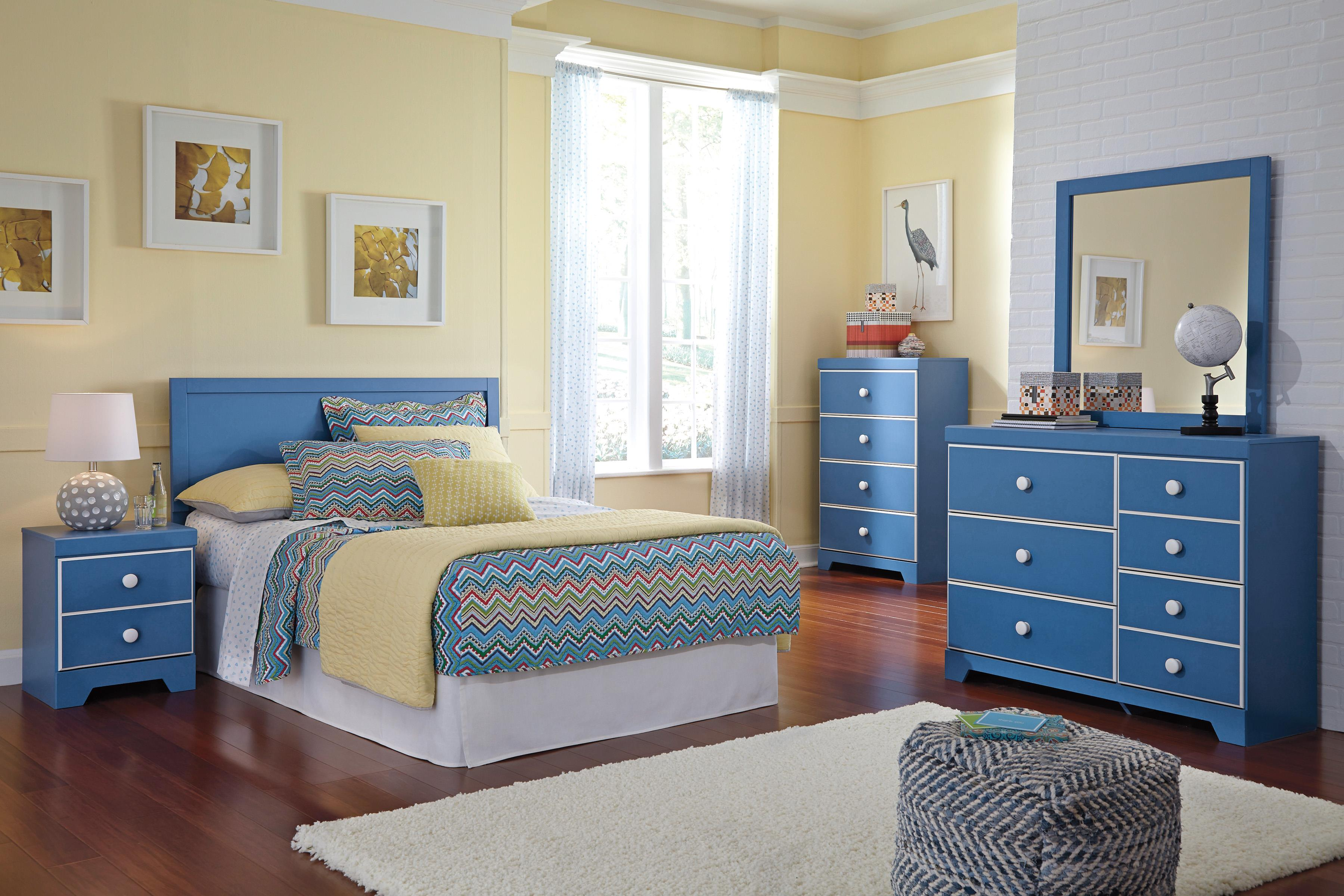 Signature Design by Ashley Bronilly Full Bedroom Group - Item Number: B045 F Bedroom Group 2