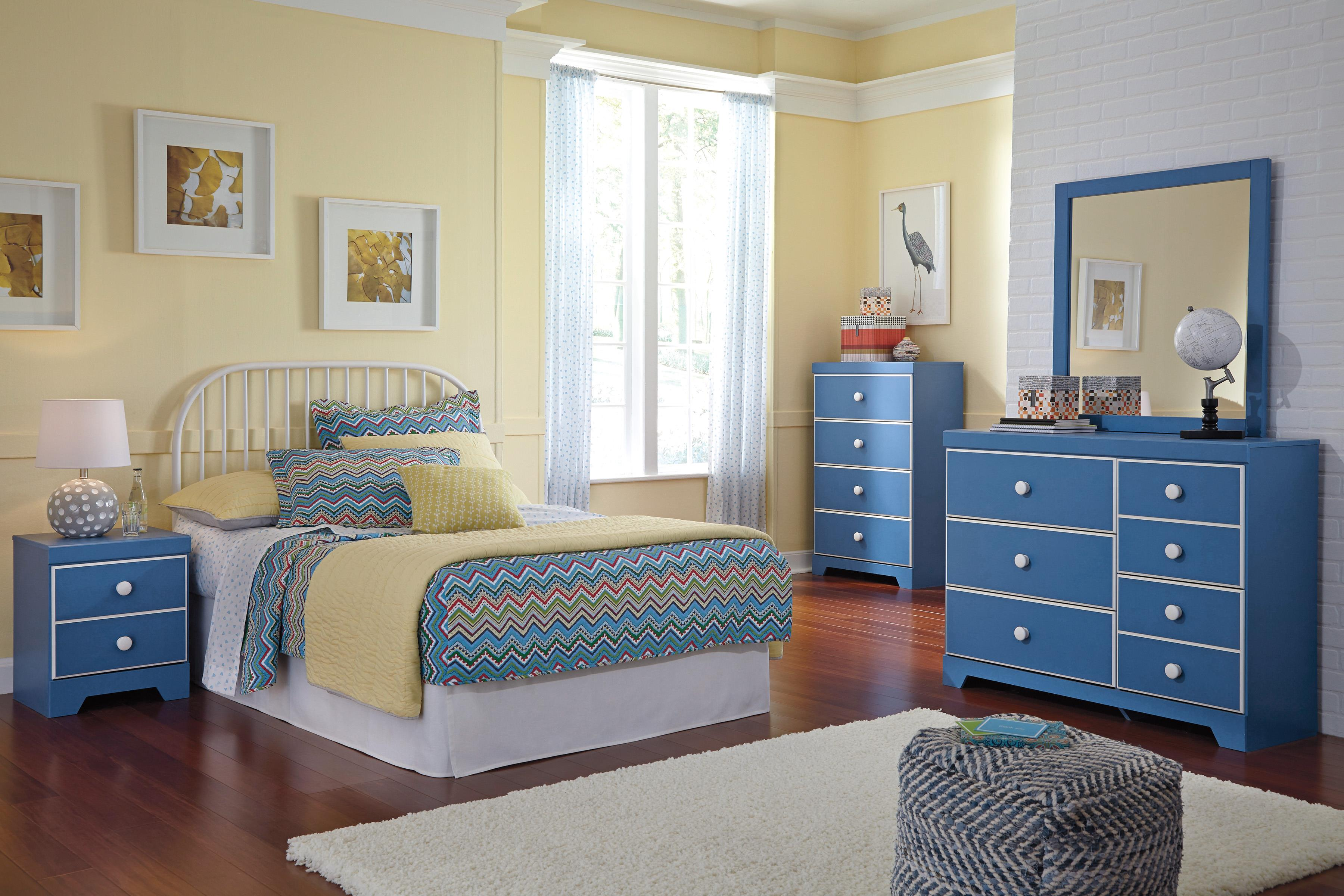 Signature Design by Ashley Bronilly Full Bedroom Group - Item Number: B045 F Bedroom Group 4