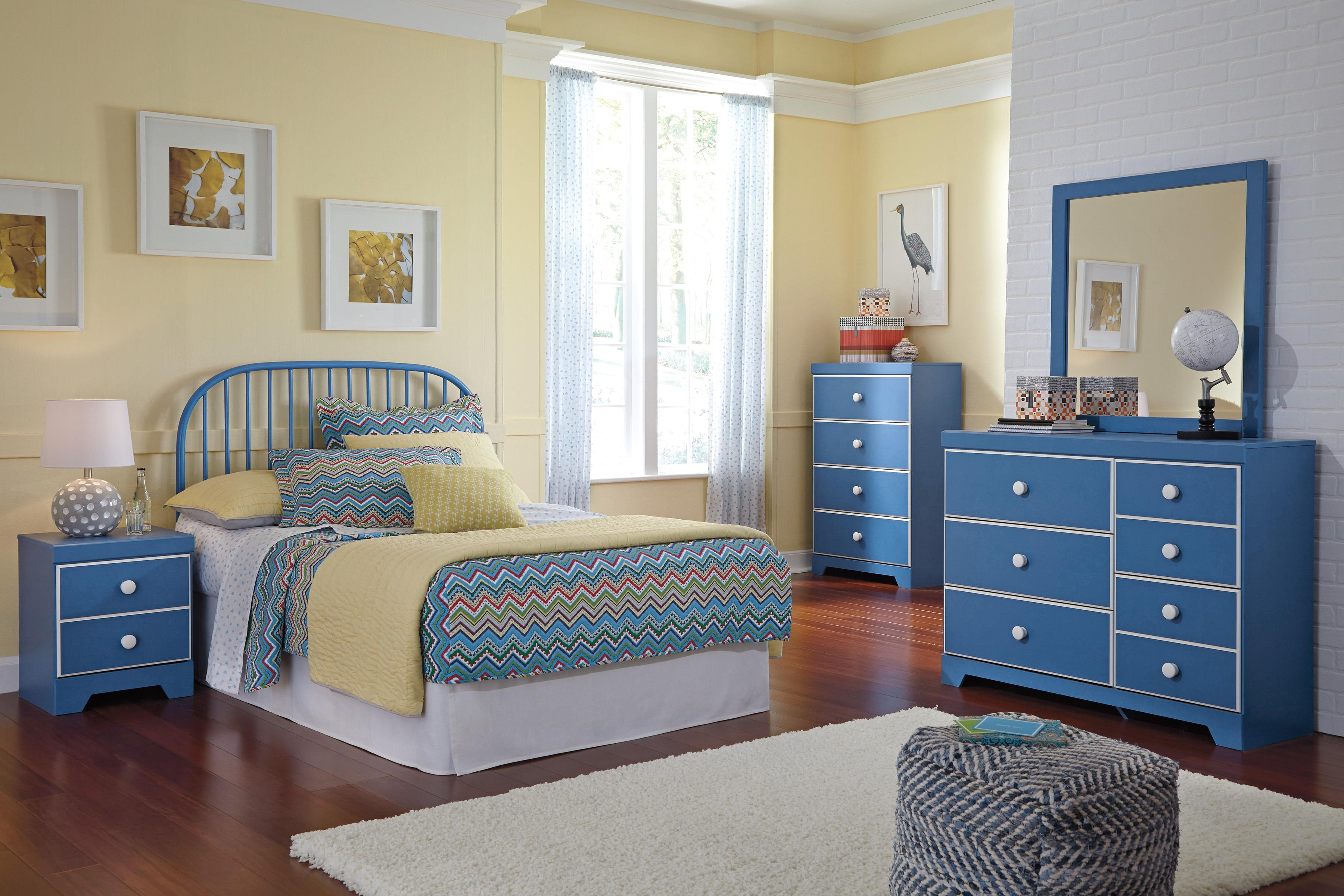 Signature Design by Ashley Bronilly Full Bedroom Group - Item Number: B045 F Bedroom Group 5